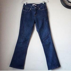 3/$20 Levi's 515 Bootcut Dark Wash Jeans Size 4